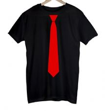 Savlonic Red Tie T-Shirt